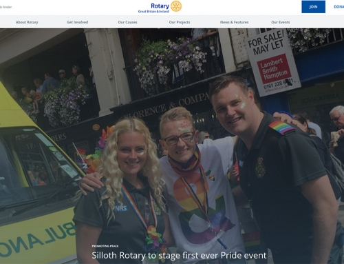 Rotary Club Webite 2019